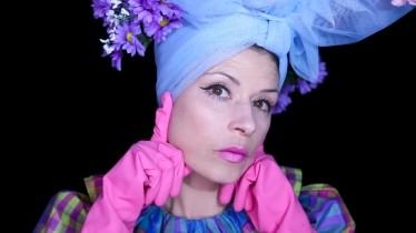 Still from Fashion film by Elizabeth Cardwell and Zoë Hitchen
