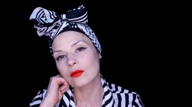 Still from Fashion film by Elizabeth Cardwell and Zoë Hitchen