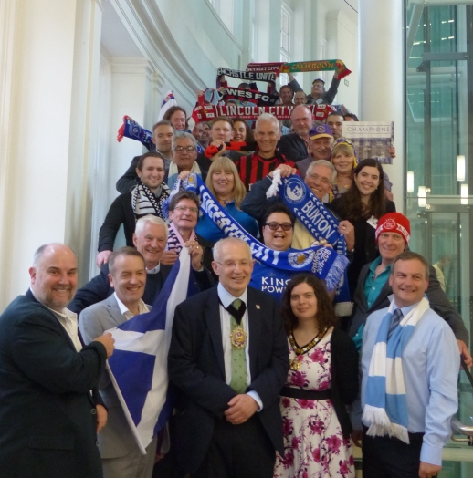 Delegates to the International Football History Conference