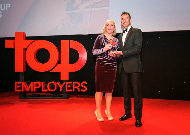 Top Employers UK Awards 2018